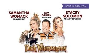 ATG Tickets: Dick Whittington Pantomime Entry, Milton Keynes Theatre, 3 - 13 January (Up to 37% Off)