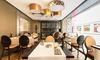 El Gato Canalla-Hotel Indigo - Madrid: Menú para dos con entrantes, principal, postre y botella de vino o bebida desde 34,95 € en El Gato Canalla-Hotel Indigo