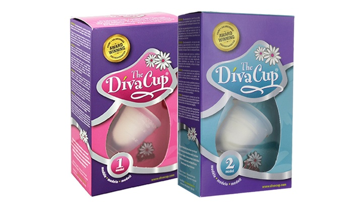 photograph relating to Diva Cup Printable Coupon identified as The DivaCup Design 1 or 2 Groupon