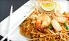 Kow Thai Restaurant - Davis: Thai Food for Lunch or Dinner at Kow Thai Restaurant (Half Off)
