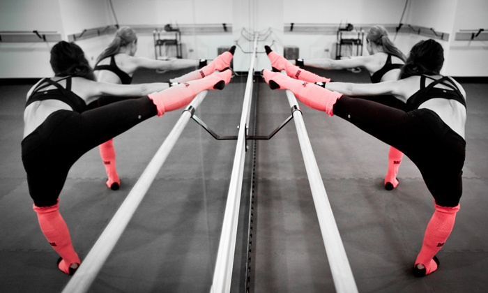 Barre Bee Fit - Multiple Locations: $35 for Five Barre-Fitness Classes at Barre Bee Fit ($70 Value)