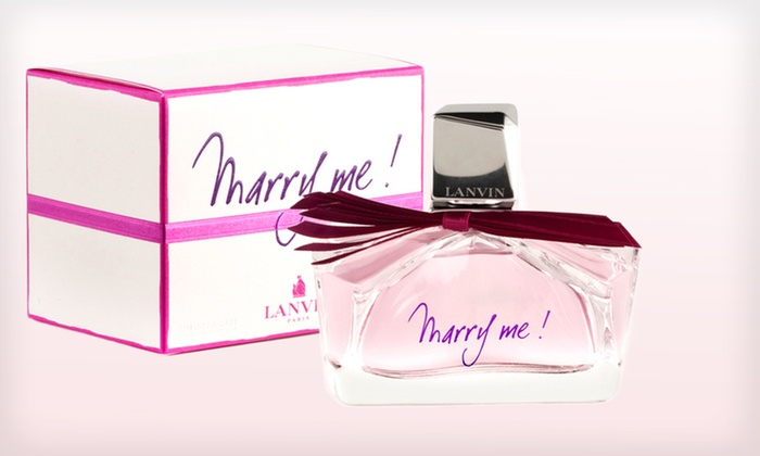Marry Me! Fragrance by Lanvin: Marry Me! 1-Ounce or 1.7-Ounce Eau de Parfum Fragrance by Lanvin (Up to 67% Off). Free Shipping.