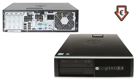 Torre ordenador HP Compaq Elite 4300 reacondicionado con 4Gb de RAM y 250Gb o 500Gb de disco duro HDD con envío gratuito