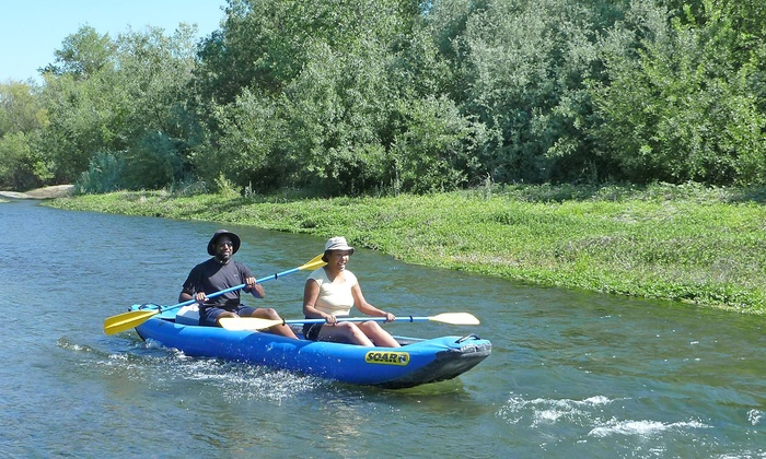 Russian River Adventures - Larkfield-Wikiup: Self Guided Full-Day Canoe Trip for One or Two from Russian River Adventures (42% Value)