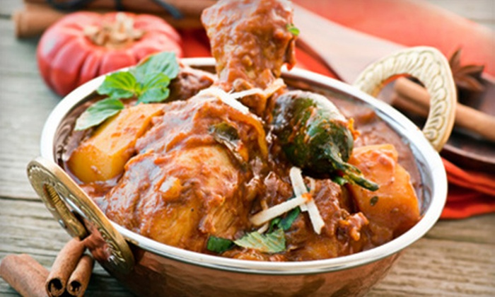 Zyka Indian Cuisine - Green Hills: Indian Cuisine at Zyka Indian Cuisine (Half Off). Two Options Available.