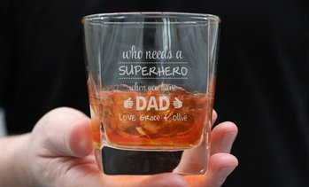 Personalised Engraved Scotch Glass