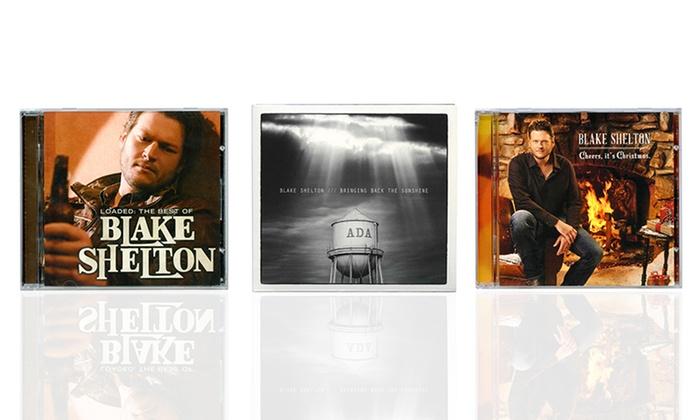 blake shelton bringing back the sunshine or hit albums - Blake Shelton Christmas Album