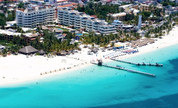 TripAlertz wants you to check out ✈ 5-Night All-Inclusive Privilege Aluxes Isla Mujeres Stay with Airfare. Price per Person Based on Double Occupancy. ✈ Privilege Aluxes Isla Mujeres Stay w/ Air from Travel By Jen - All-Inclusive Mexico Vacation