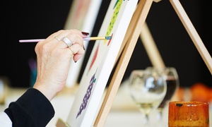 Wilde Coward Company: Three-Hour Painting Lesson at The Wilde Coward Company (43% Off)