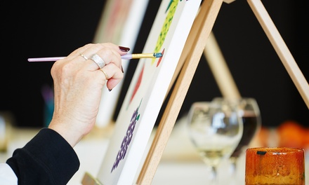 $25 for Three-Hour BYOB Painting Class at Pinot's Palette ($45 Value)