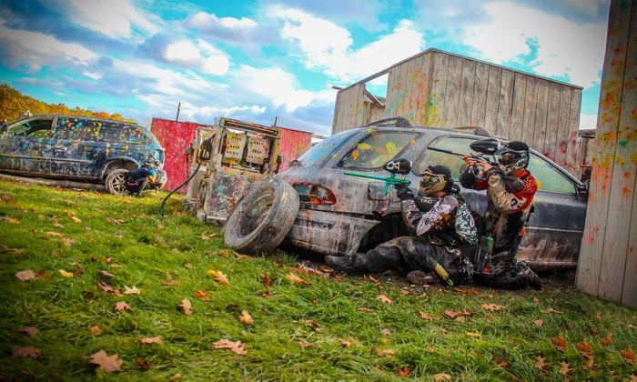 OSG Paintball - Barnstead: All-Day Paintball Package for Two, Four, or Six at OSG Paintball (Up to 63% Off)