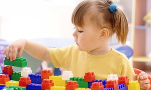 Clicks & Bricks Learning Center: 3, 5, or 10 Kids' Structured-Playtime Sessions at Clicks & Bricks Learning Center (Up to 59% Off)