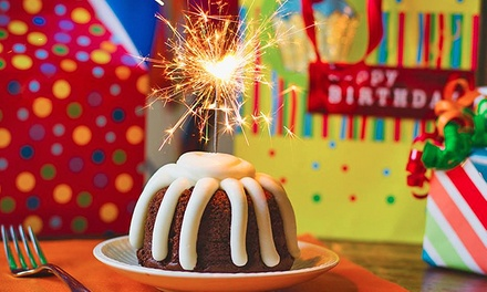 $12 for $20 Worth of Hand-Decorated Bundt Cakes at Nothing Bundt Cakes