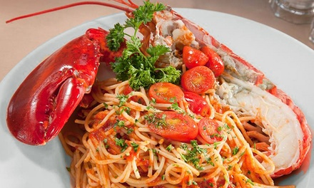 Italian Dinner for Two or Four at Casa Mia Trattoria & Pizzeria (45% Off)