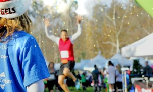 The Jingle Bell Run/Walk: Entry to The Jingle Bell Run/Walk for Arthritis for One or Two on Sunday, December 6 (Up to 39% Off)