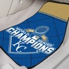 Kansas City Royals MLB 2015 World Series Champs Carpet Car Mats