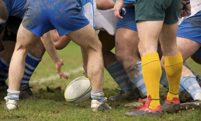 White Plains Rugby Football Club - White Plains: 10-Game Rugby-Club Membership for One, Two, Three, or Four at White Plains Rugby Football Club (Up to 64% Off)