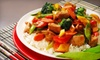 Tyfoon - Multiple Locations: $10 for $20 Worth of Chinese Cuisine at China Bar