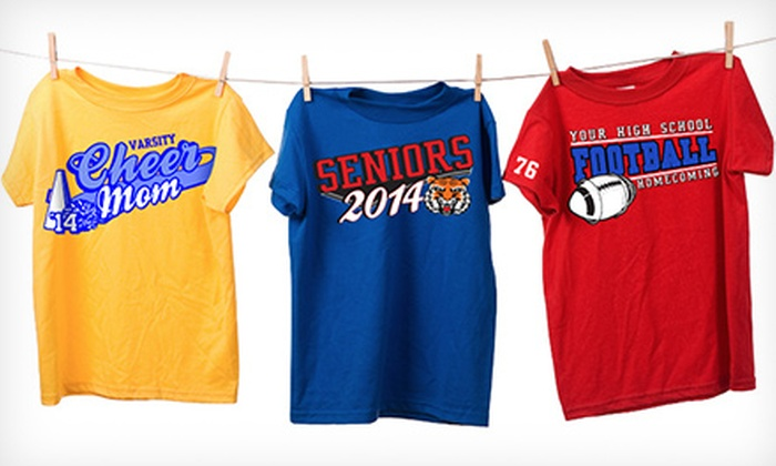SpiritShop.com: Custom School Apparel and Merchandise from SpiritShop.com (Up to 52% Off). Two Options Available.