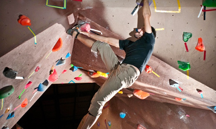 The Ascent - Murfreesboro: One or Five Climbing Day Passes or One-Month Family Pass with Gear Rental at The Ascent in Murfreesboro (Up to 65% Off)