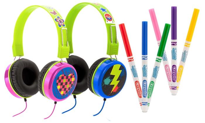 Griffin Crayola Kid's Headphones