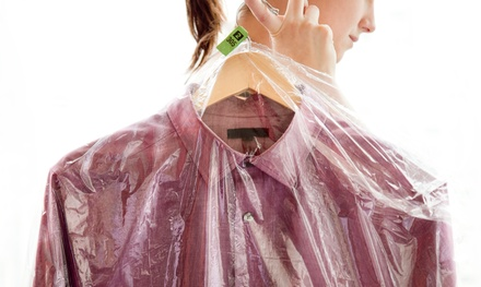 Dry-Cleaning Services and Laundered Dress Shirts at VIP Cleaners (40% Off). Two Options Available.