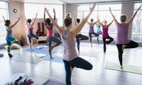 Five or Ten Yoga Classes, Group or Private at Divine Yoga (Up to 57% Off)