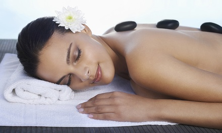 70Minute Oil Massage with Hot Stones Plus Steam Capsule Session at Luxe Therapy Value