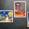 Watercolor Giclée Prints from Emerging Artists