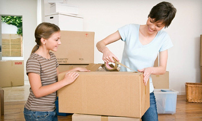 SpeedyMen Moving Services - Milwaukee: Two or Four Hours of Moving Services with Packing Supplies from SpeedyMen Moving Services (Up to 53% Off)