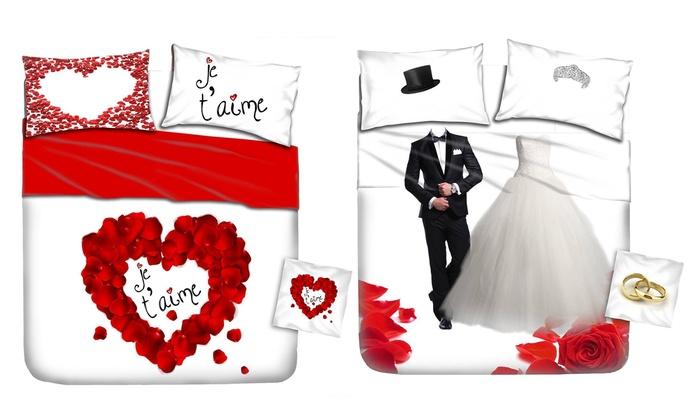 lenzuola divertenti matrimoniali