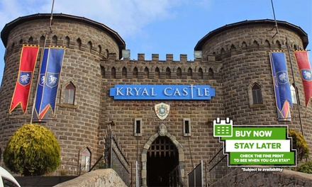 Ballarat: One- or Two-Night Medieval Mid-Week Getaway for Two with Wine and Late Check-Out at Kryal Castle, Victoria