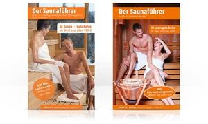 Edition 1.6 / Gutverlag Druck & Medien: Saunaführer Nürnberg, Franken, Oberpfalz od. Hamburg, Niedersachsen, Schleswig-Holstein inkl. Versand (30% sparen)