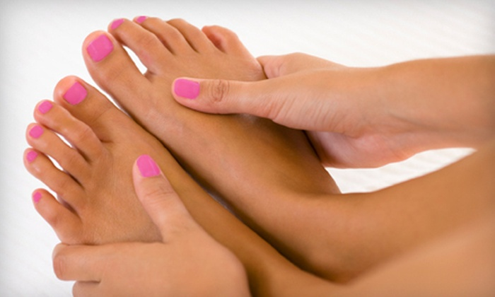 Street Side Salon - Affton: $34 for an OPI Gel Manicure and Spa Smoothing Pedicure at Street Side Salon in Affton (Up to $68 Value)