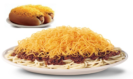$12 for Three Visits, Each Good for $7 at Skyline Chili - University of Dayton ($21 Total Value)