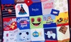 Mominizer: Baby-Name Blanket, Picnic-Sized T-Shirt Memory Quilt, or Custom Baby-Item Memory Quilt from Mominizer (Up to 51% Off)