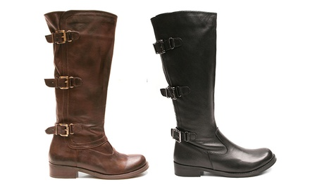 Two Lips Justify Riding Boots. Multiple Options Available. Free Returns.
