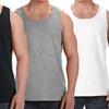 Premium Cotton Men's Muscle Tank Tops (3-Pack)