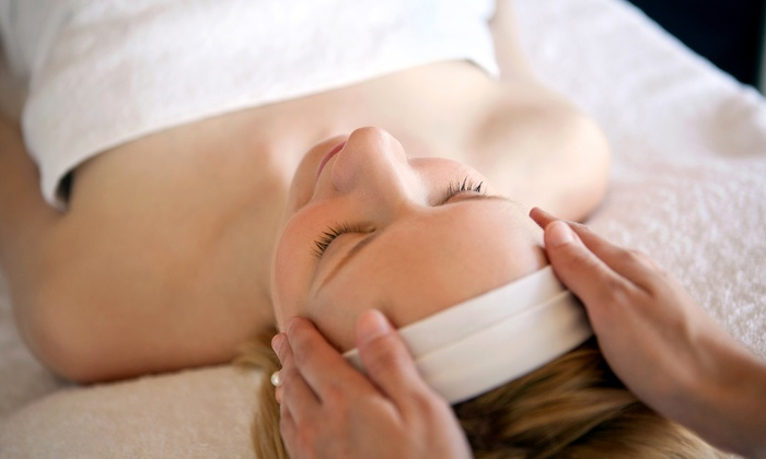 Pure SKN - Lofts on 9: 60-Minute Massage, Custom Organic Facial, or Both at Pure SKN (Up to 54% Off)