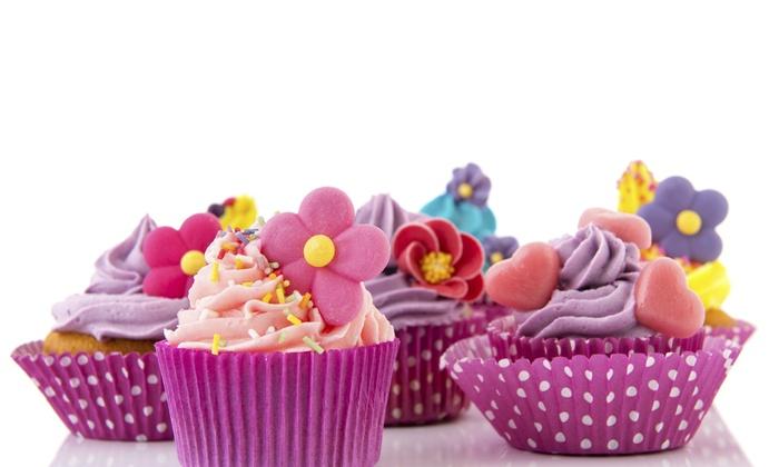 Just Dessertz By Erika - Atlanta: Two Dozen Assorted Mini Cupcakes at Just Dessertz by Erika (42% Off)