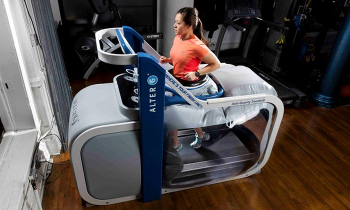 Finish Line Physical Therapy - Chelsea: Five or 10 30-Minute AlterG Anti-Gravity Treadmill Sessions at Finish Line Physical Therapy (Up to 53% Off)