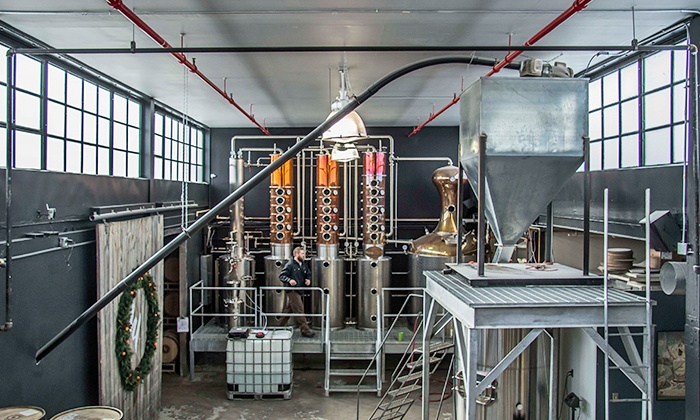 Watershed Distillery - Tri-Village: $15 for a Distillery Tour and T-Shirt for One at Watershed Distillery ($30 Value)
