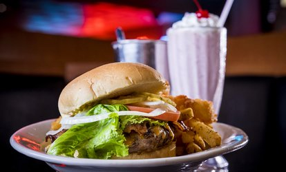 image for C$14 for C$20 Worth of Burgers and Milk Shakes at Paradise Cream