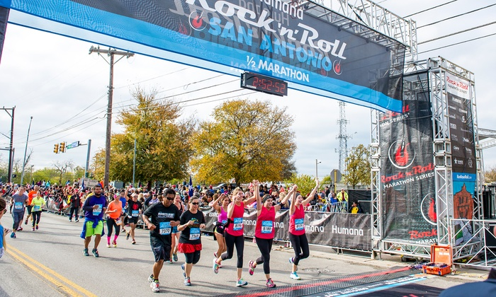 Image result for humana rock n roll marathon san antonio 2018