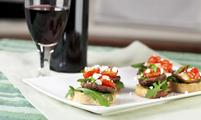 Creek's Edge Winery - Georges Mill: $39 for One Tapas Plate, Two Signature Glasses, and One Corkscrew at Creek's Edge Winery ($89 Value)
