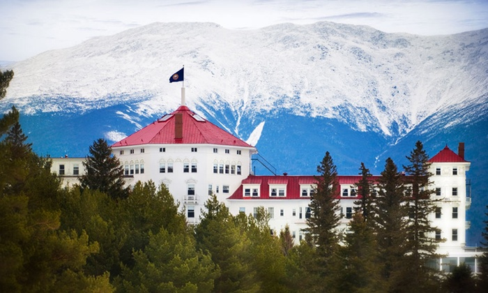 Groupon - Getaways: $25 Nightly Resort Fee for the Omni Mount Washington