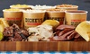 Curtis and Boyd LLC 3 - dba Dickey's Barbecue Pit - Burleson: $12 for $24 Worth of Online Ordering at Dickey's Barbecue Pit