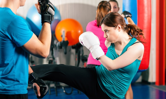 Gangi Martial Arts & Fitness - Wauconda: 10 or 20 Kickboxing Classes at Gangi Martial Arts & Fitness (Up to 66% Off)