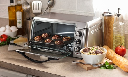 Countertop Convection Oven South Africa : Hamilton Beach 6-Slice Convection Toaster Oven Groupon
