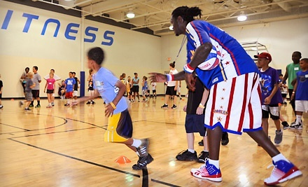 $35 for a Two-Hour Harlem Globetrotters Basketball Clinic with One Game Voucher ($59 Value)